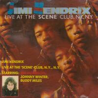 CD: Jimi Hendrix Live At the 'Scene' Club N.Y., N.Y. classic rock, blues