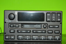 Lincoln Town Car Alpine cassette player radio 99 00 01 02 03 2W1T-18C870-AA
