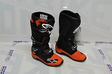 STIVALI ALPINESTARS OFF-ROAD TECH 7 NERO ARANCIONE TAGLIA 43 CROSS MOTARD