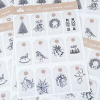 Craftwork Cards Festive Tag Bundle  includes a total of 120 tags across 10 sheet