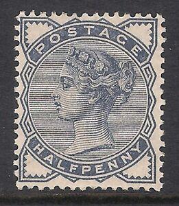 GB 1884 sg187 1/2d Slate-Blue Mint MH