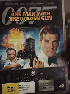 The Man With The Golden Gun DVD JAN 2-Disks. Roger Moore ones all seem similar