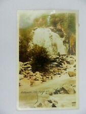 Vintage 1940s Cottonwood Falls Nelson B.C. Postcard Vancouver Canada