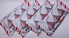 4 Bags Hershey's Kisses CANDY CANE Mint Candy w/ Candy Bits 10 oz Bag ea