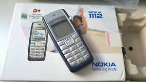 Original Nokia 1112 - Dark Blue (Unlocked) Mobile Phone