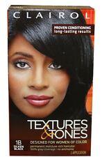Clairol Textures - Tones 1B Silken Black, 1 ea