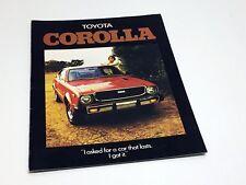 1976 Toyota Corolla Brochure