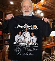 Apollo 11 - 50th Anniversary T Shirt Moon Landing 1969-2019