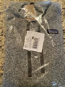 patagonia better sweater xl mens Grey NWT