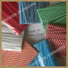 """200 pcs 7"""" paper twist ties for cello bags & gardening"""