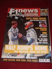 F1 NEWS INTERNATIONAL - RALF ROMPS HOME - March 22 2002