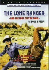 The Lone Ranger and the Lost City of Gold - Clayton Moore (NEW) Western Hero DVD
