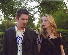 Ethan Hawke & Julie Delpy Signed Autographed 8x10 Before Sunset Photograph