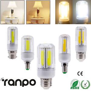 5X 50X COB LED Corn Bulb E27 E26 E12 E14 B22 12W 16W Bright Energy Saving Light