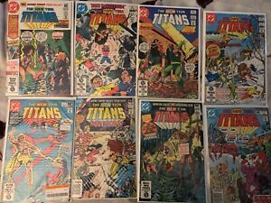 New Teen Titans Lot - Wolfman/Perez - Good Condition,Great for Reading, & Bagged