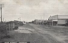Postcard High Street Carrum Victoria used in 1914 text back, scarce