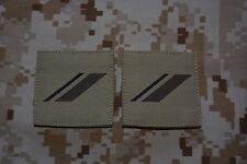 G01 grades militaires basse visibilité galons Armée Française insignes Airsoft