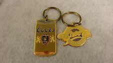 """""""Colorado""""Themed Key Chains Vintage (80's) Unused ! Old Inventory (2) Pack"""