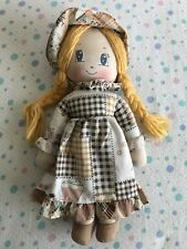 Bambola Di Pezza Tipo Hollie Hobbie Sarah Kay
