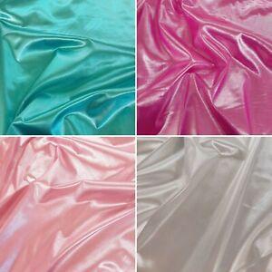 Brocade Foil Shiny Fabrics - Metallic Colour Craft Costume Dress Sewing Fabric