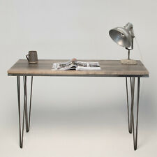 Ebonised Maple Hairpin Desk / Table - Modern Design - 3 Sizes Available