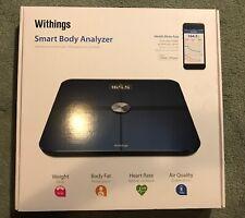 Brand New Withings WS-50 Smart Body Analyzer, Black