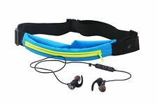 Bolan Bluetooth Earbud set -Plus- LED Light Up Exercise Runners Belt with Pocket