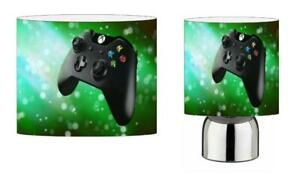 XBOX GAMING LIGHT SHADE & TOUCH LAMP SET KIDS ROOM