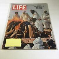 Life Magazine: June 5 1964 The Cremation Of Nehru