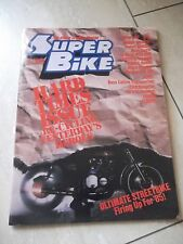 Super Bike, February  1985