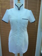 Ladies Nylon Overall ( Nurse Style ) Approx Size 12
