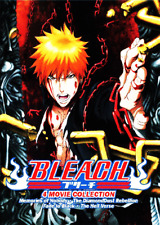 DVD ANIME BLEACH 4 Collection Movie (ENGLISH DUBBED) Region All + FREE ANIME