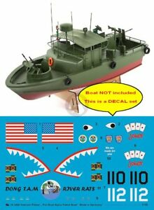 """Peddinghaus 1/18 Alpha Boat PBR """"Pibber"""" Vietnam Markings (Pro Boat Models) 3480"""