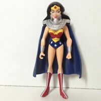 "WONDER WOMAN JLU JUSTICE LEAGUE UNLIMITED action figure DC SUPER HEROES 4.5"""