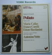 GML 23 - DONIZETTI - Poliuto highlights VOTTO / CALLAS / CORELLI - Ex LP Record