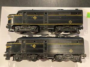 Lionel Postwar 2032 Erie Alco A-A Diesel Engines