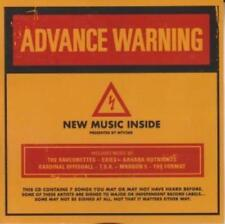 MTV Advance Warning w/ Artwork MUSIC AUDIO CD Kardinal Offishall Belly Maroon 5