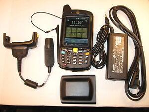 SYMBOL MOTOROLA MC659B-PB0BAB00100 26-KEY GSM+EVDO CELLULAR BARCODE CAMERA MC65