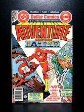 COMICS: DC: Adventure Comics #465 (1979) - RARE (flash/wonder woman/aquaman)