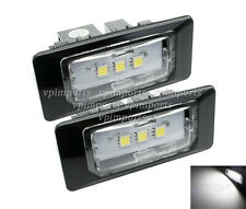 CanBus Cree LED Xenon White License Number Plate Lights For Audi A4 A5 A7 VW