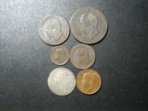 4461 - ITALY - SIX COINS WITH SILVER