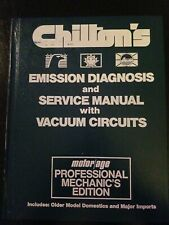 1966 - 1974 Chilton's Emission Diagnosis and Service Manual with Vacuum Circuits