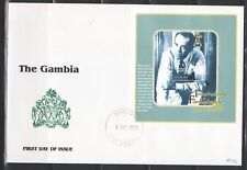 SELLOS TEMA CINE SOBRE MAT.PRIMER DIA 2000 GAMBIA INT. FILMFESTSPIELE HB