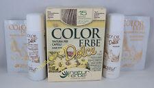 COLORERBE DOLCE couleur COLORATION cheveux végétale 60ml 15 BLONDE CLAIRE
