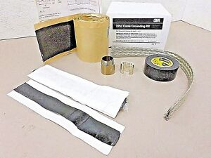 3M™ 2252 Medium Voltage Inline Cable Splice Grounding Kit #2 AWG-4/0