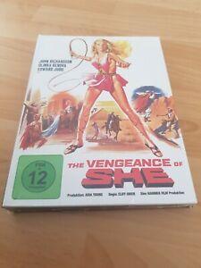 BLU-RAY  THE VENGEANCE OF SHE - MEDIABOOK Anolis Hammer 32 Cover B