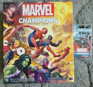 Marvel Champions : The Card Game Core Base Game LCG + THOR Hero Pack Expansion