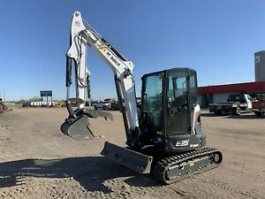 2020 BOBCAT E35 i MINI EXCAVATOR - 62 HOURS - EXCELLENT CONDITION