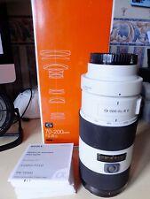 Sony SAL SAL70200G 70-200mm F/2.8 SSM Lente Af G