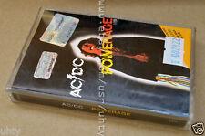 AC/DC POWERAGE VERY RARE UKR ORIGINAL TAPE CASSETTE AUSTRALIAN BLUES HARD ROCK!!